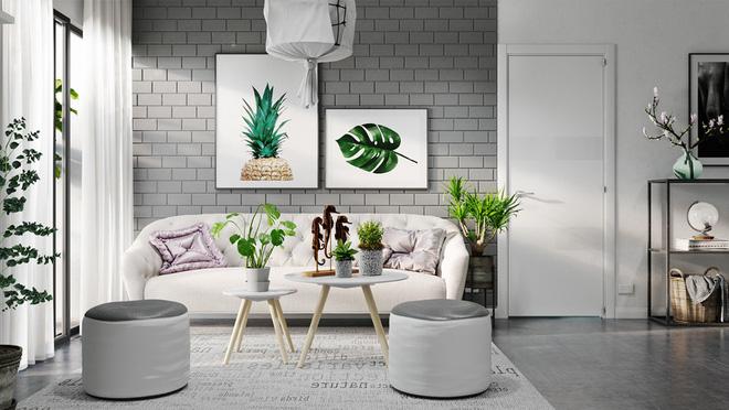 8 mẫu sofa nhỏ đẹp long lanh mà cực hợp cho nhà chật - Ảnh 7.