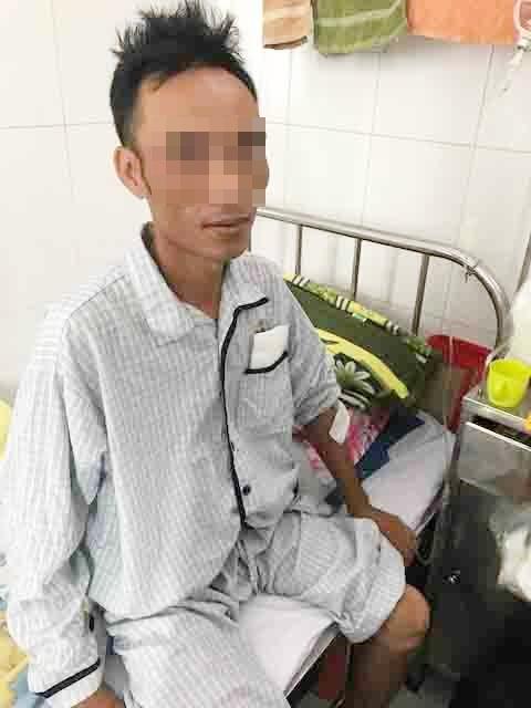 Hiếm gặp: Một công nhân bị thủng ruột, suýt chết vì cọc nhồi bê tông ép vào bụng - ảnh 3