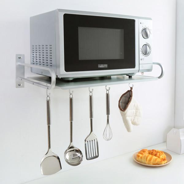 13 mẫu giá kệ để lò vi sóng tiện dụng cho nhà bếp nhỏ - Ảnh 1.
