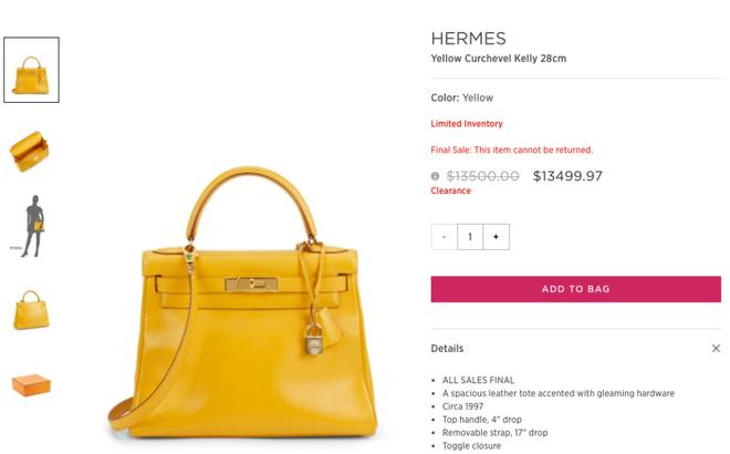 Lần đầu tiên túi Hermes Birkin và Kelly được bán giảm giá, mà lại còn giảm hẳn 0.03 USD! - Ảnh 2.