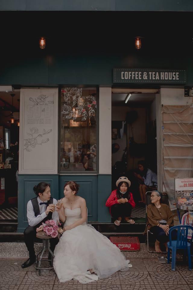 Đứng ngồi không yên trước bộ ảnh cưới đẹp như mơ chụp tại Việt Nam của cặp đôi Đài Loan - Ảnh 9.