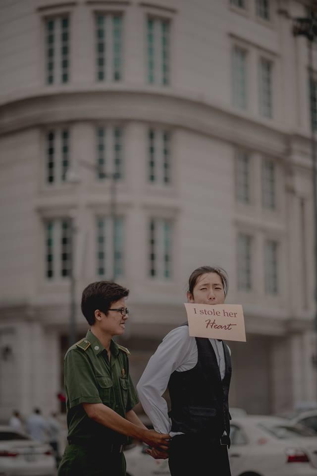 Đứng ngồi không yên trước bộ ảnh cưới đẹp như mơ chụp tại Việt Nam của cặp đôi Đài Loan - Ảnh 14.