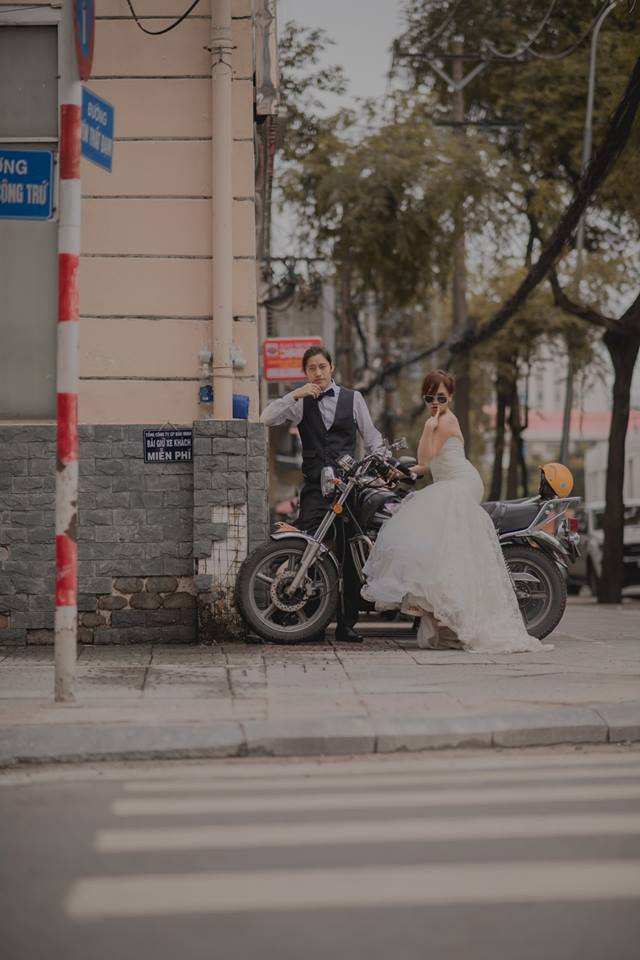 Đứng ngồi không yên trước bộ ảnh cưới đẹp như mơ chụp tại Việt Nam của cặp đôi Đài Loan - Ảnh 19.
