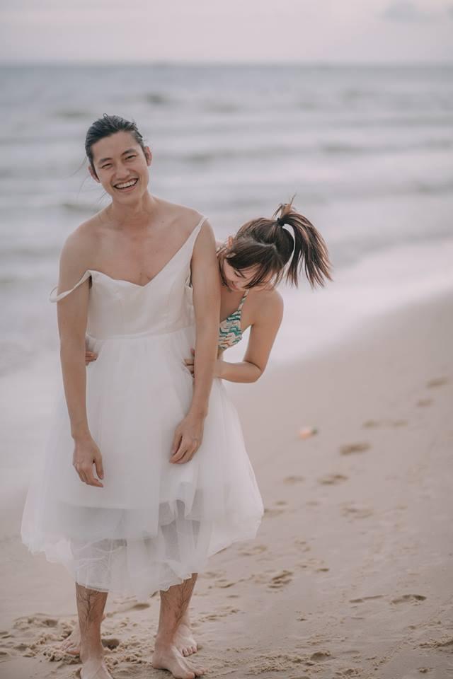 Đứng ngồi không yên trước bộ ảnh cưới đẹp như mơ chụp tại Việt Nam của cặp đôi Đài Loan - Ảnh 29.
