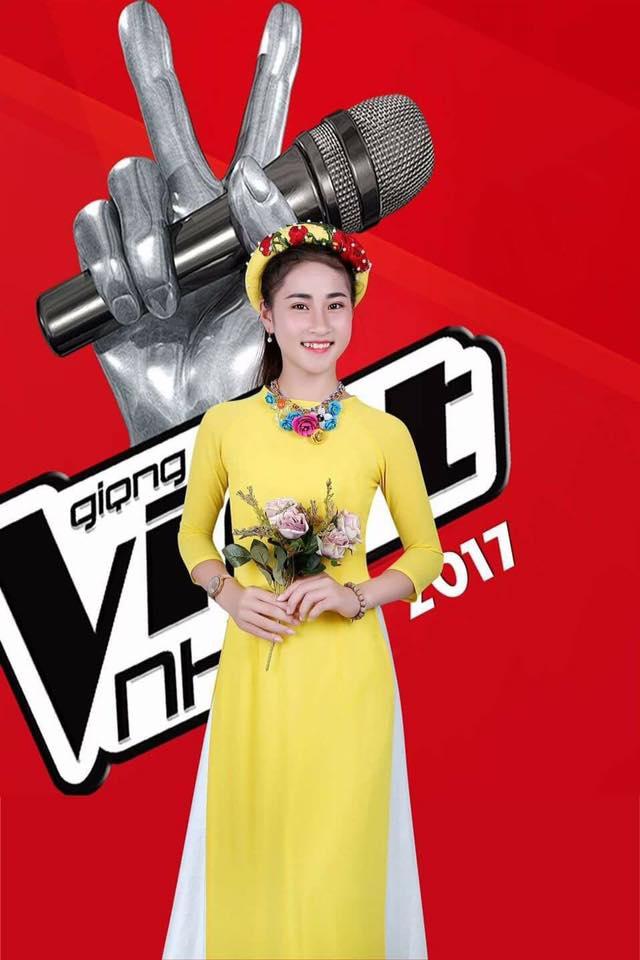 Gặp cô bé 14 tuổi xinh đẹp, hát dân ca ngọt lịm gây bão Giọng hát Việt nhí 2017 - Ảnh 1.