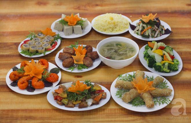 6 địa chỉ đặt cỗ chay đa dạng món, giá mềm cho rằm tháng bảy ở Hà Nội - Ảnh 17.