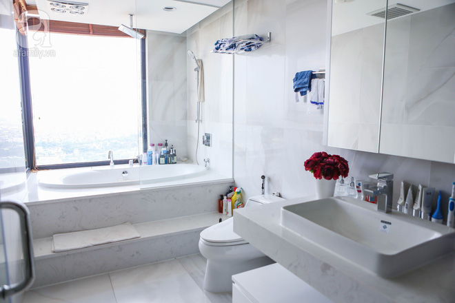 Căn hộ penthouse 300m² với hướng nhìn ra sông Hồng tuyệt đẹp của nữ giám đốc thời  trang - Ảnh 17.