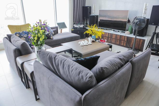 Căn hộ penthouse 300m² với hướng nhìn ra sông Hồng tuyệt đẹp của nữ giám đốc thời  trang - Ảnh 7.