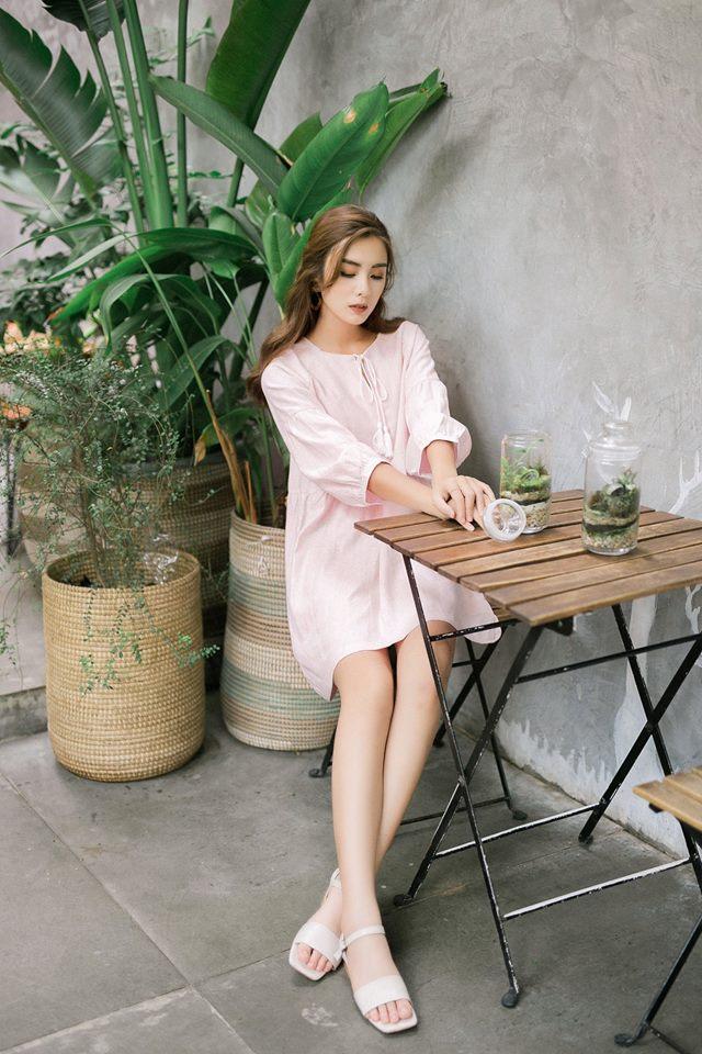 Đón thu ngọt ngào cùng những thiết kế váy liền tay lỡ mà giá chưa đến 700 ngàn đến từ các thương hiệu Việt - Ảnh 6.