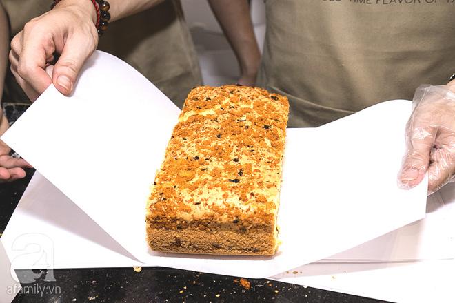 Cuối cùng, bánh bông lan khổng lồ Đài Loan từng gây sốt ở Sài Gòn cũng đã tới Hà Nội - Ảnh 15.