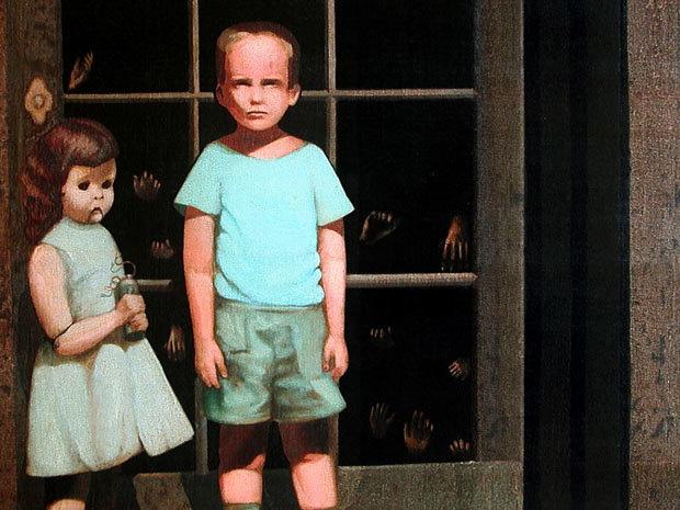 """""""The Hands Resist Him"""": Câu chuyện rùng rợn phía sau bức tranh quái đản nhất được rao bán trên eBay - Ảnh 1."""