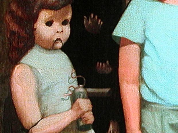 """""""The Hands Resist Him"""": Câu chuyện rùng rợn phía sau bức tranh quái đản nhất được rao bán trên eBay - Ảnh 2."""
