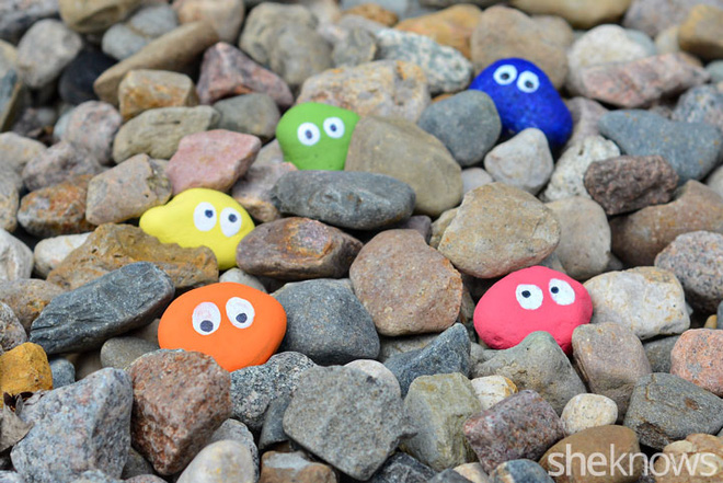 6 ý tưởng biến sỏi đá thành đồ trang trí nhà cực đẹp lại rất dễ làm - ảnh 2