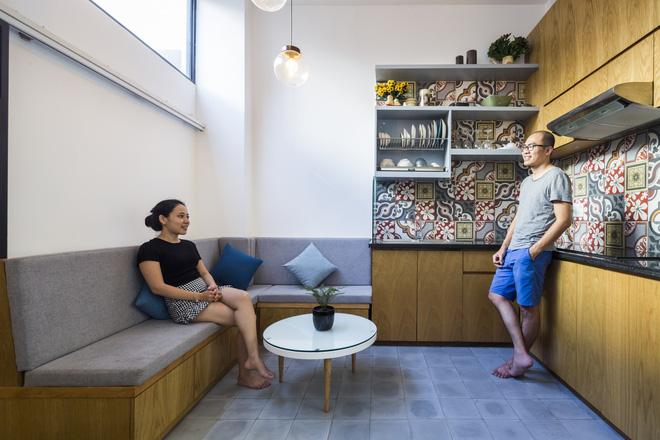 Ngôi nhà 18m² trong hẻm nhỏ vạn người mê của cặp vợ chồng trẻ ở Sài Gòn - Ảnh 8.