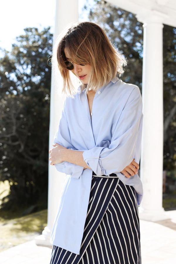 Ngại rút hầu bao mua thêm áo sơmi, thì bạn có thể tham khảo 5 cách mặc này để đổi mới - Ảnh 14.