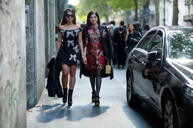 Hóa ra Thảo Tiên - em chồng Hà Tăng mới là mỹ nhân Việt càn quét front-row từ London đến Milan Fashion Week - Ảnh 1.