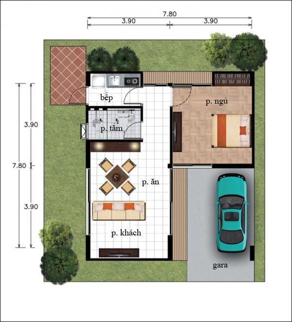 Chẳng cần cao tầng, 9 ngôi nhà 1 tầng này cũng đủ khiến bạn hài lòng về cả thiết kế lẫn công năng - Ảnh 16.