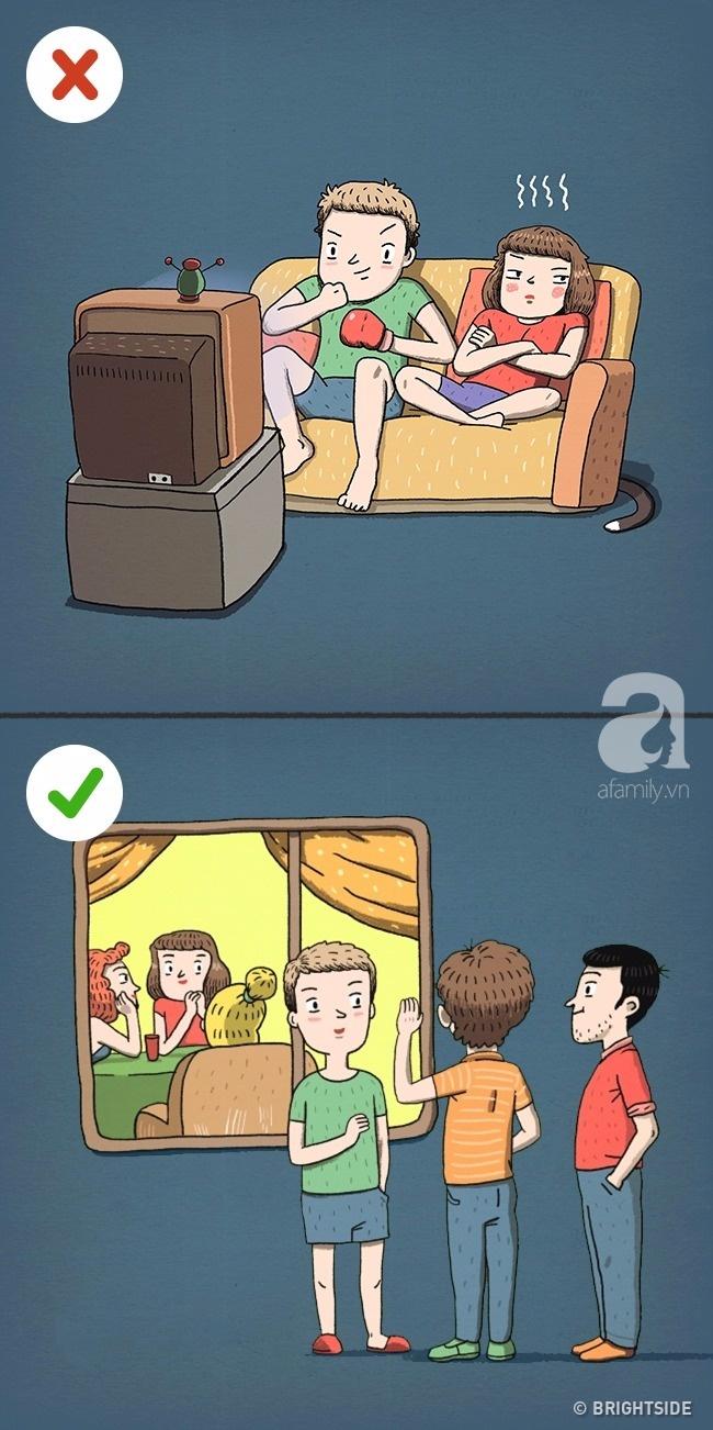 Những bức tranh khiến bạn phải nghĩ lại về các bí quyết hôn nhân tưởng 100% là đúng! - Ảnh 4.