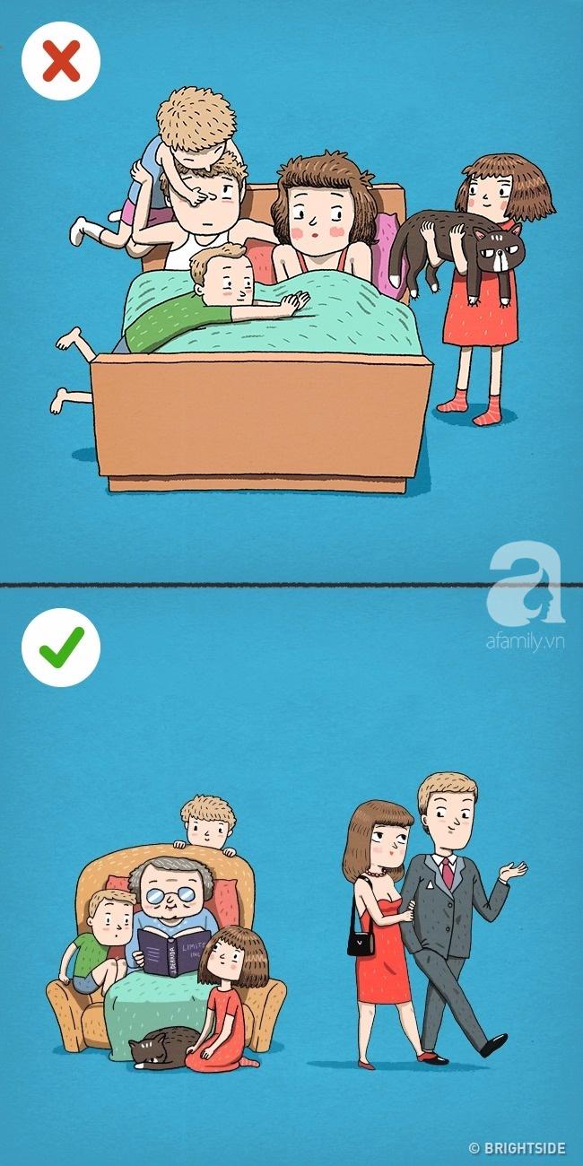 Những bức tranh khiến bạn phải nghĩ lại về các bí quyết hôn nhân tưởng 100% là đúng! - Ảnh 7.