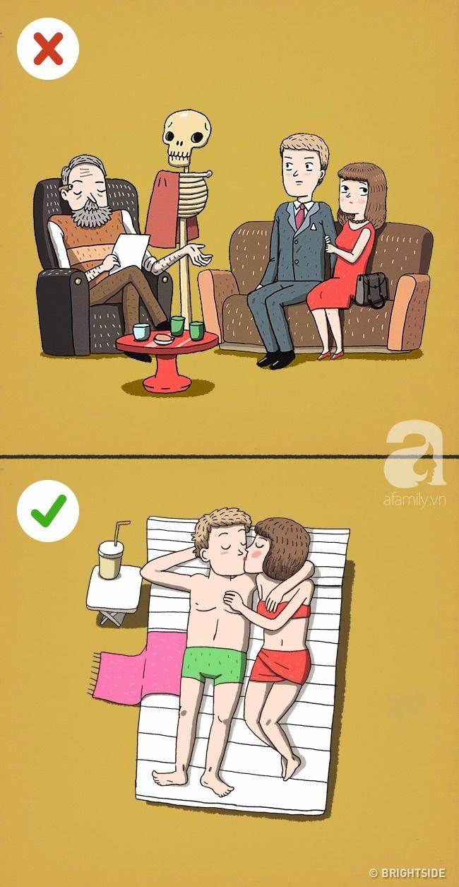 Những bức tranh khiến bạn phải nghĩ lại về các bí quyết hôn nhân tưởng 100% là đúng! - Ảnh 9.
