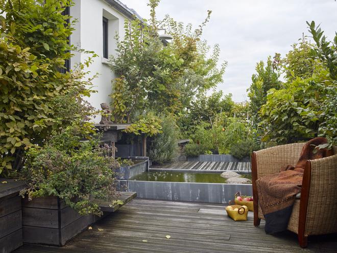 Khu vườn trên mái nhà ngập tràn cây trái với hướng nhìn thẳng ra tháp Eiffel - Ảnh 8.