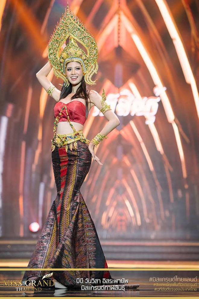 Vồ ếch liên tục trên sân khấu nhưng Miss Grand Thái Lan vẫn được khán giả vỗ tay khen ngợi liên tục - Ảnh 5.