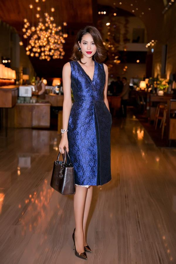 Từ mờ nhạt về nhan sắc lẫn phong cách thời trang, phải mất tận 7 năm Phạm Hương mới có chỗ đứng trong Vbiz - Ảnh 16.