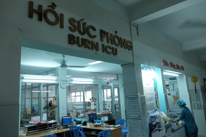 Hiện bé trai được điều trị tại BV Nhi Đồng 1.