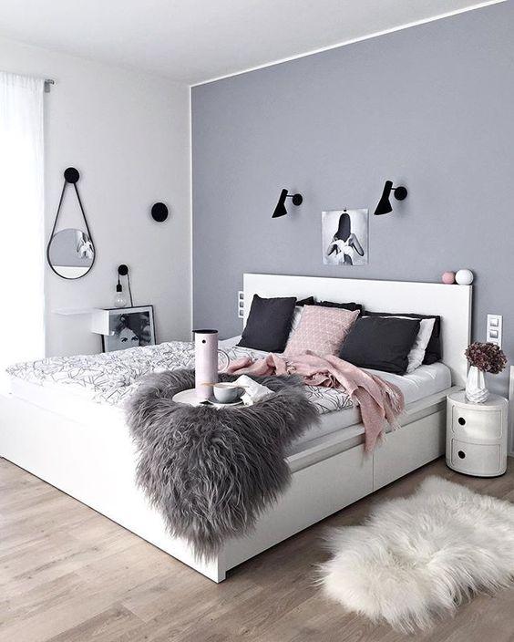 Những mẫu phòng ngủ mùa đông nhìn là thấy ấm - Ảnh 1.