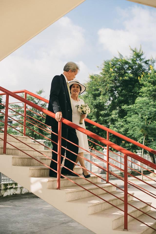 45 năm ông bà anh yêu nhau từ thời chẳng có gì đến tuổi thất thập và bộ ảnh cưới tình hơn tụi trẻ - Ảnh 6.