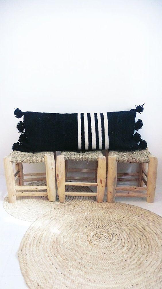 Trang trí phòng khách với gối tựa lưng bằng len siêu đẹp - Ảnh 1.