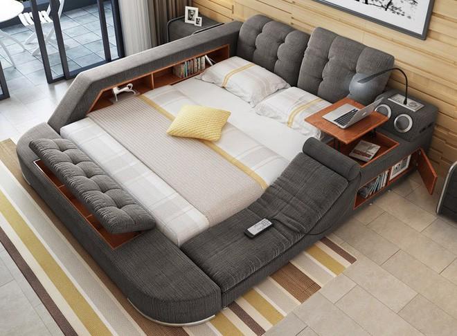 Có chiếc giường đa năng chất thế này thì chỉ muốn nằm lì cả ngày để tận hưởng - Ảnh 2.