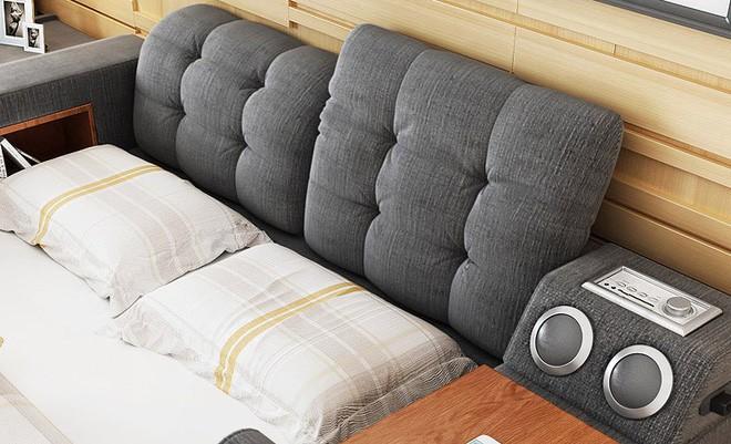 Có chiếc giường đa năng chất thế này thì chỉ muốn nằm lì cả ngày để tận hưởng - Ảnh 3.