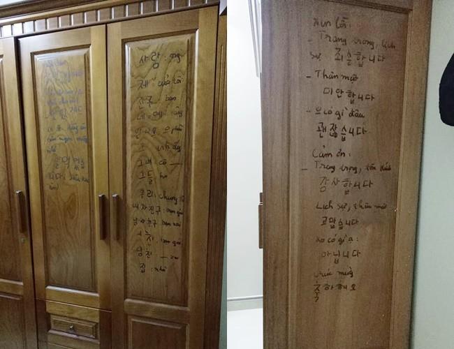 Con gái khoe mẹ U50 hiếu học nhất hệ mặt trời, dùng cả tường bếp làm bảng ghi từ mới, cấu trúc tiếng Anh - Ảnh 4.