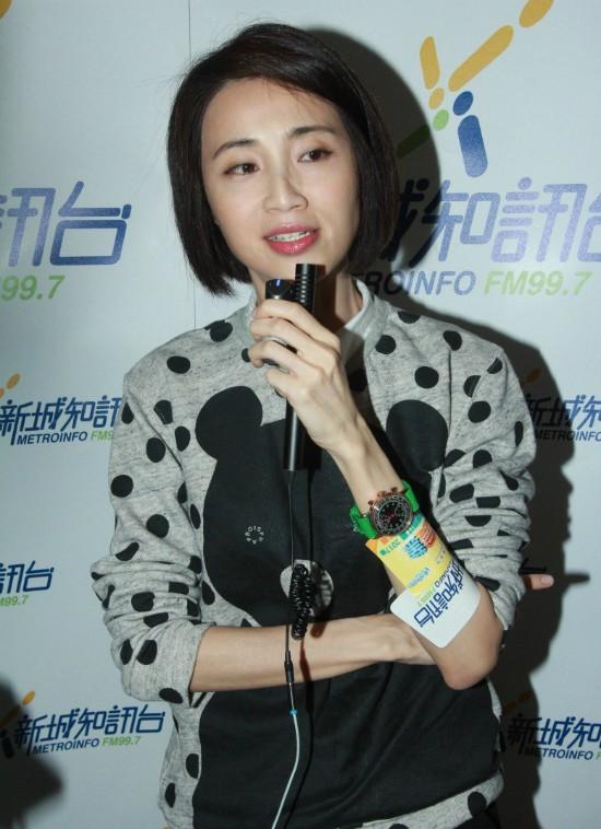 Hoa hậu Hong Kong không sinh con, muốn dành hết thời gian để chăm chồng bị ung thư - Ảnh 1.