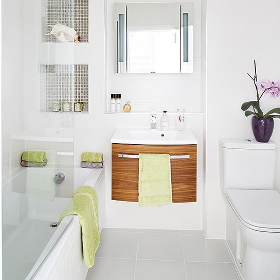 Phòng tắm nhỏ trở nên đáng yêu nhờ bài trí theo những cách này! - Ảnh 1.