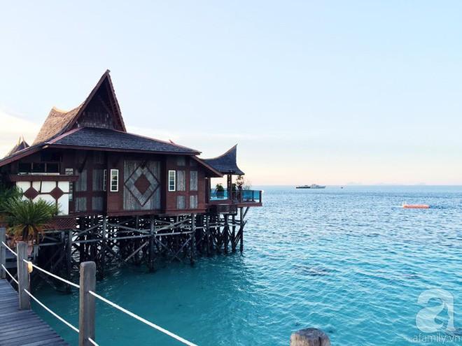 Cô gái Việt đến đảo thiên đường Sipadan bơi cùng cá mập, ở resort hạng sang, ăn buffet xả láng cả tuần với 12 triệu - Ảnh 5.