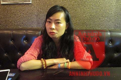 Chị Nguyễn Diệu Linh trong buổi trao đổi với PV Báo ANTĐ