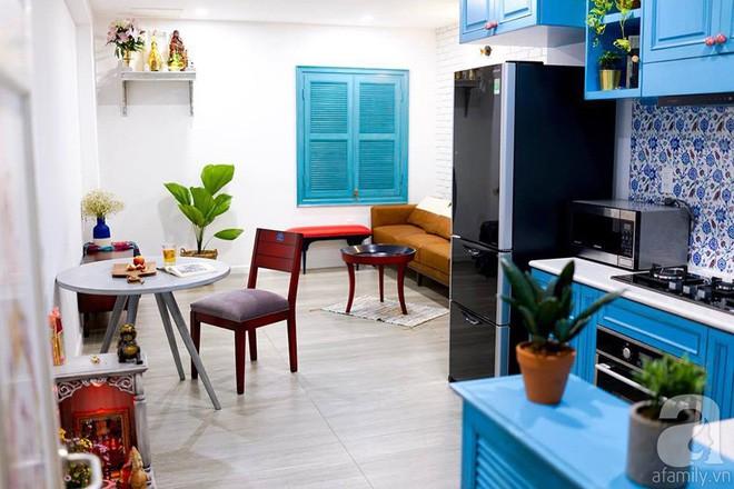 Căn hộ 59m² mang phong cách Địa Trung Hải đẹp đến từng chi tiết nhỏ ở Quận 4, Sài Gòn - Ảnh 1.