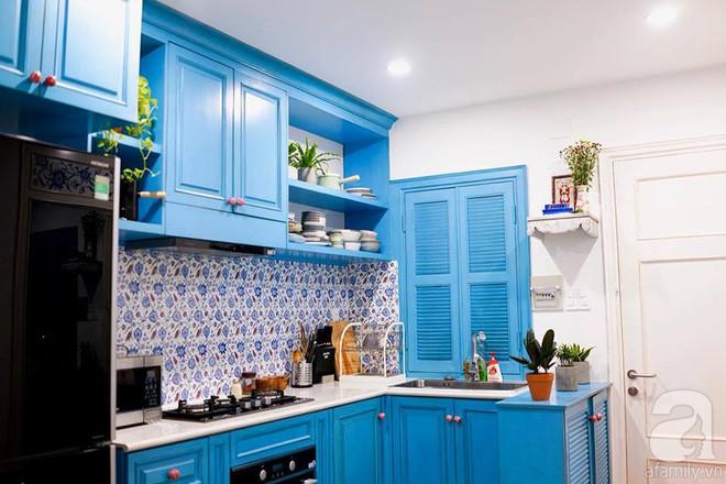 Căn hộ 59m² mang phong cách Địa Trung Hải đẹp đến từng chi tiết nhỏ ở Quận 4, Sài Gòn - Ảnh 4.