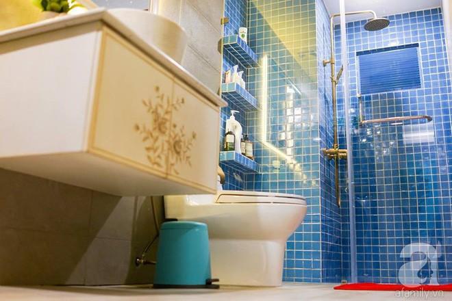 Căn hộ 59m² mang phong cách Địa Trung Hải đẹp đến từng chi tiết nhỏ ở Quận 4, Sài Gòn - Ảnh 14.