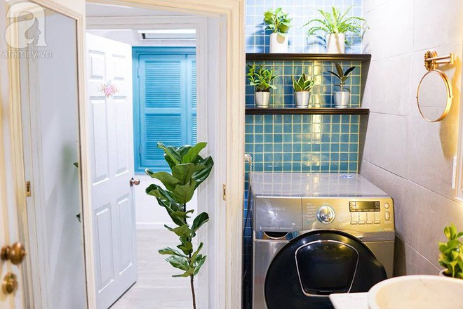 Căn hộ 59m² mang phong cách Địa Trung Hải đẹp đến từng chi tiết nhỏ ở Quận 4, Sài Gòn - Ảnh 17.
