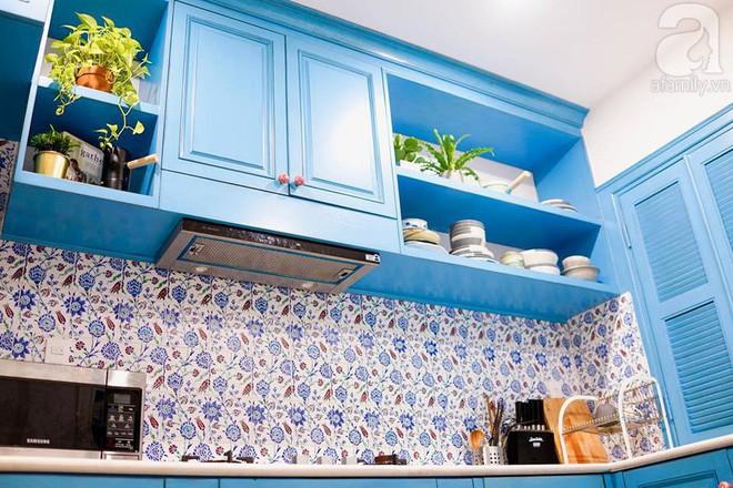 Căn hộ 59m² mang phong cách Địa Trung Hải đẹp đến từng chi tiết nhỏ ở Quận 4, Sài Gòn - Ảnh 5.