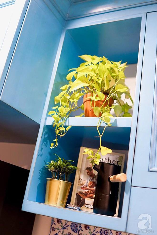 Căn hộ 59m² mang phong cách Địa Trung Hải đẹp đến từng chi tiết nhỏ ở Quận 4, Sài Gòn - Ảnh 6.