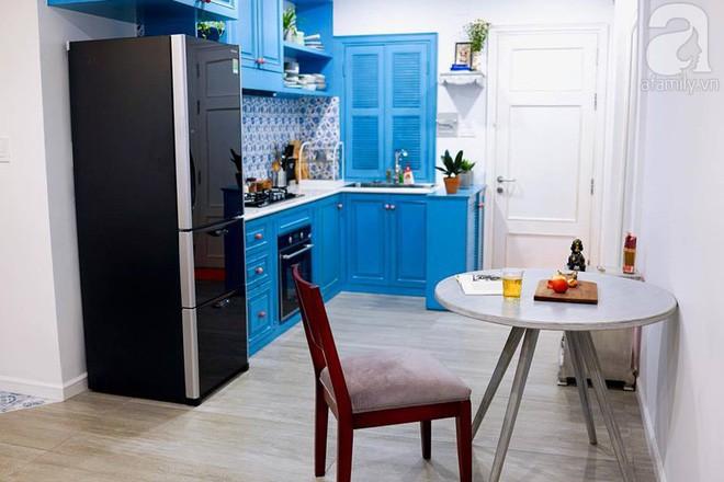 Căn hộ 59m² mang phong cách Địa Trung Hải đẹp đến từng chi tiết nhỏ ở Quận 4, Sài Gòn - Ảnh 7.