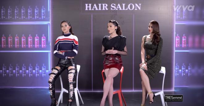 Phạm Hương và 3 phong cách hoàn toàn khác nhau từ The Face, Hoa hậu hoàn vũ 2017 đến The Look - Ảnh 21.