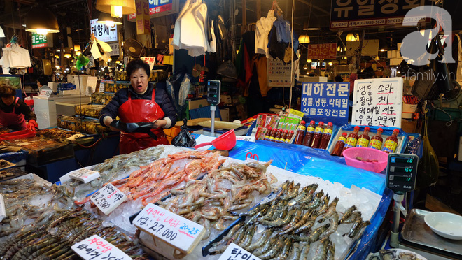 Đi Seoul mà mê hải sản, nhất định phải đến chợ Norangjin - Ảnh 2.