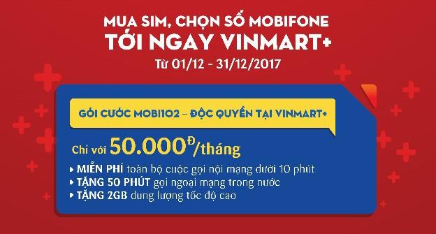 VinMart+ phân phối sim và gói cước di động MobiFone - Ảnh 2.