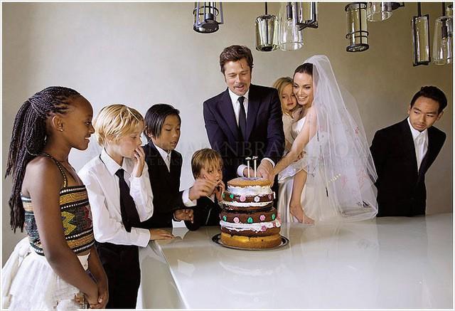 Pax Thiên muốn tự nấu bữa tối mừng sinh nhật Brad Pitt - Ảnh 1.
