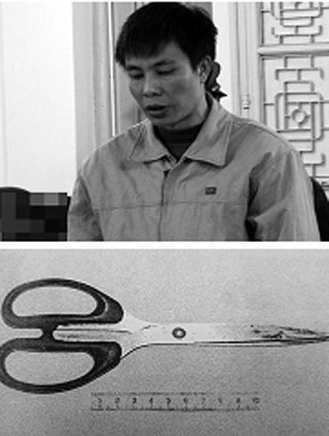 Bị cáo Lê Diên Hải, hung khí.